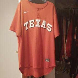 Men's Nike XL Texas Baseball Jersey